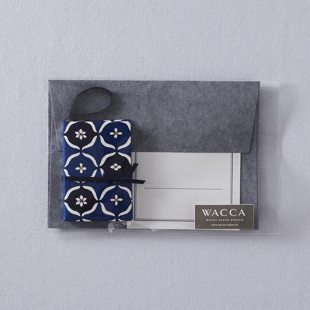 GC16MM 型染紙オーナメントカードセット 丸紋くずし