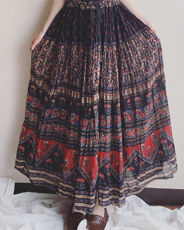 【専用ページ】vintage Indian cotton skirt