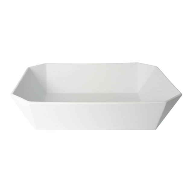 1616 / arita japan TY Square Bowl 184 Gray