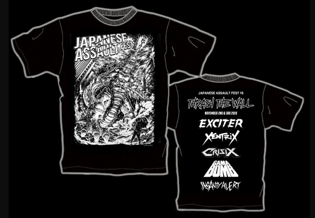 JAPANESE ASSAULT FEST 19 限定Tシャツ
