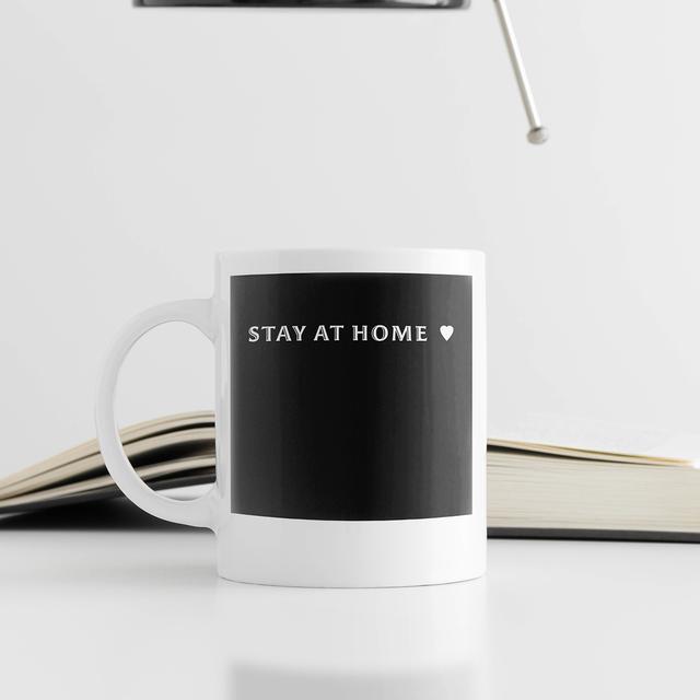 STAY AT HOME マグカップ B