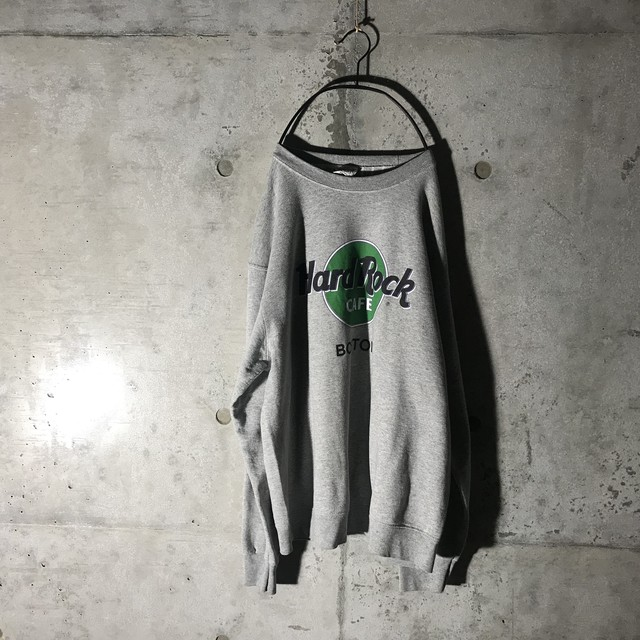 [Hard Rock Cafe]BOSTON grey sweat