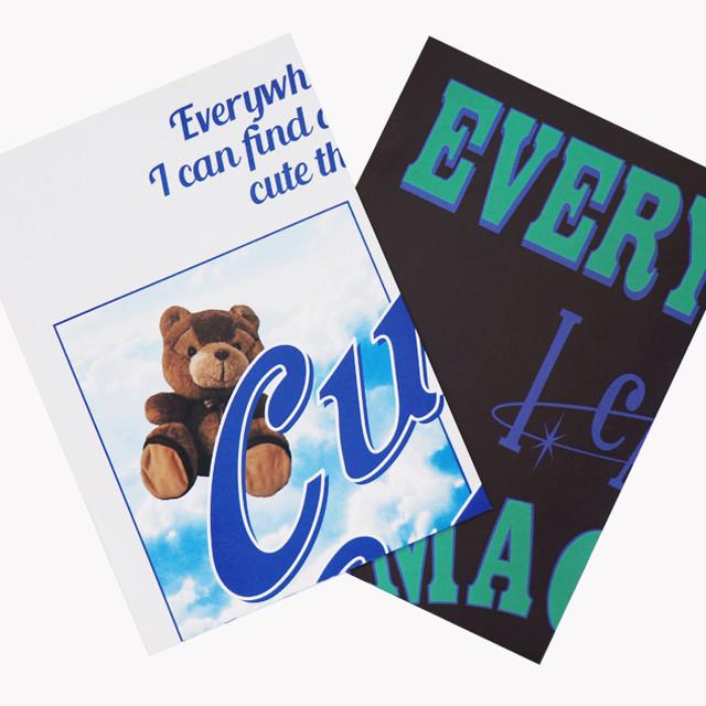 「PCC」 ポスター2枚セット