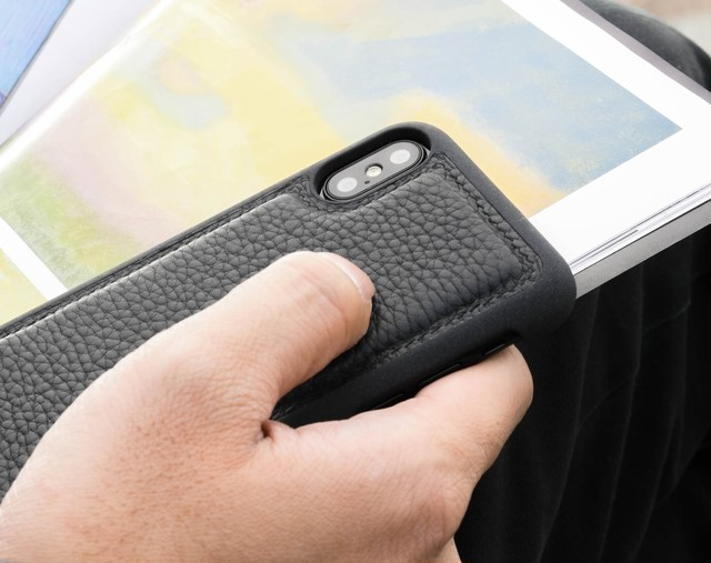 iPhone X ケース 背面 本革 バックカバー アイフォーン STORY LEATHER ストーリーレザー Style09187 国内正規品