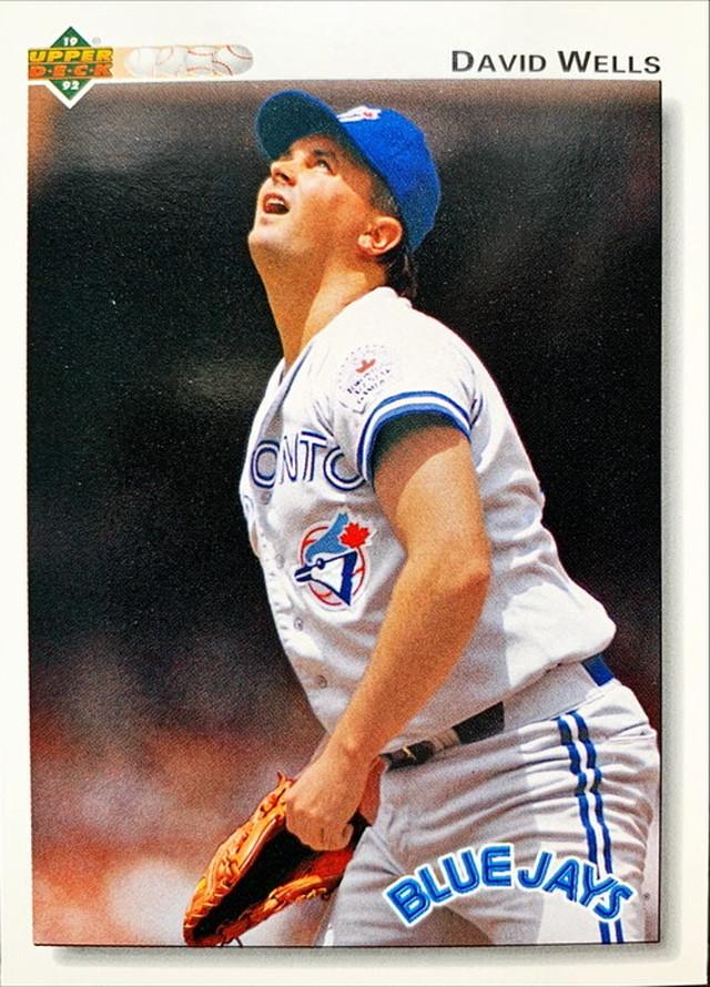 MLBカード 92UPPERDECK David Wells #116 BLUEJAYS
