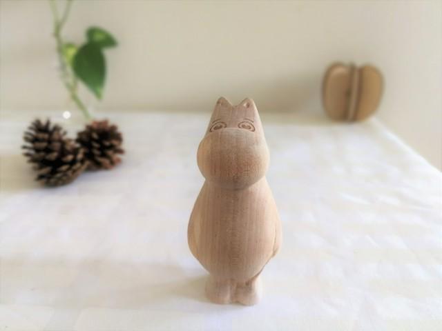 木製のムーミンフィギア / ムーミン  / ムーミン