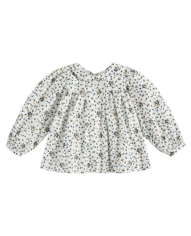 Little cotton clothes/Josephine blouse - dainty floral