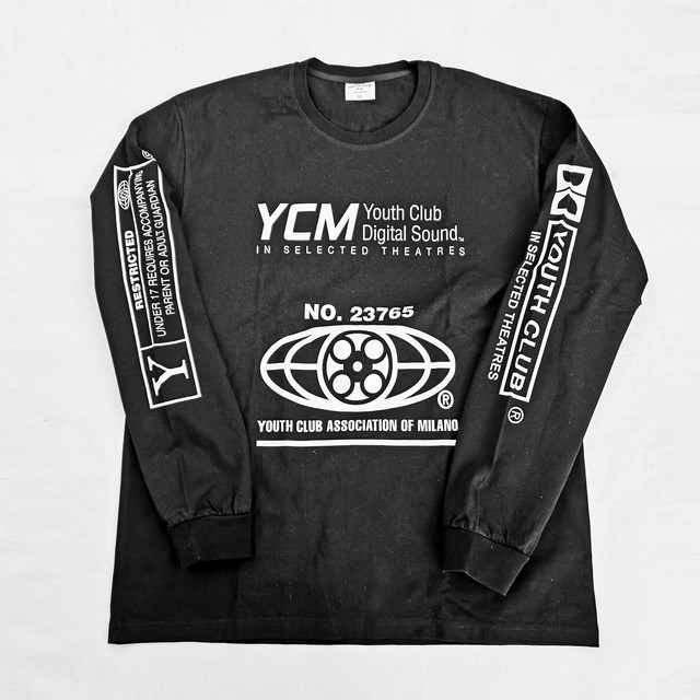 YOUTH CLUB MILANO LONG TEE XL