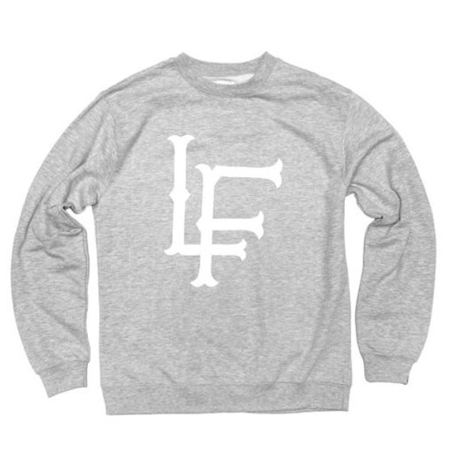 LIVE FIT LF Crewneck - Heather Grey