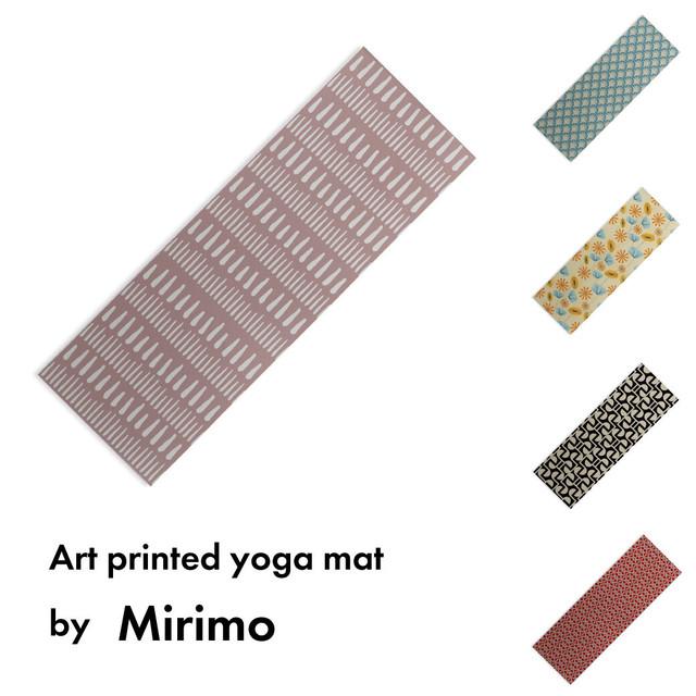 アートプリント ヨガマット -by Mirimo【受注オーダー制: 6月上旬入荷分 受付中】