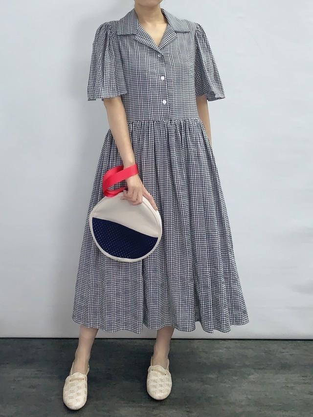 【TOIT VOANT】SPRING GARDEN DRESS:Black x White