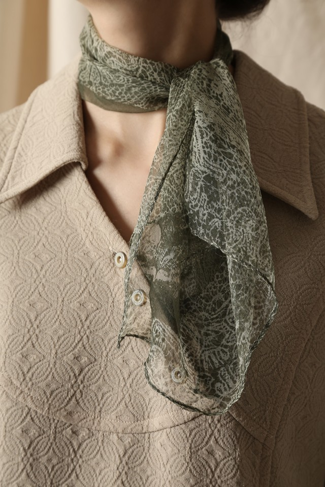 MADE TO PROTECT YOU BY CHRISTOPHE COPPENS Petit Scarf
