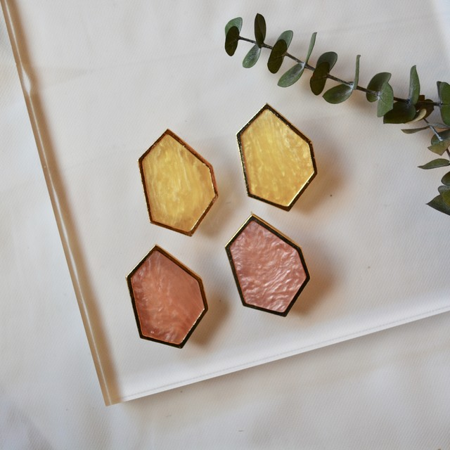 hexagon color pierce