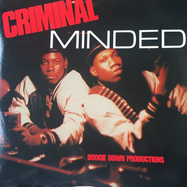 Boogie Down Productions ‎– Criminal Minded