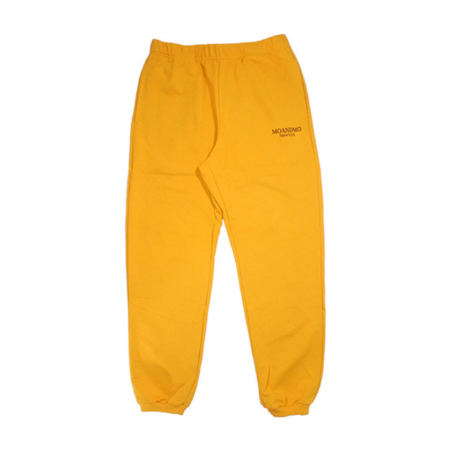 MOANDMO LOGO Sweat Pants / Yellow