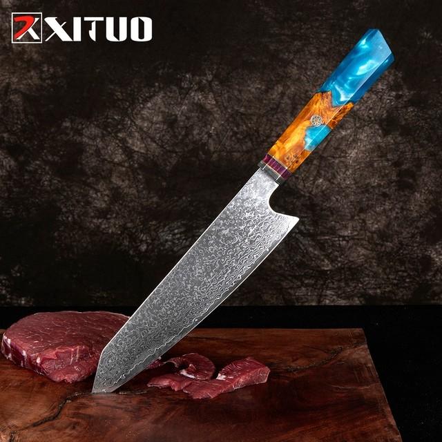 XITUO 牛刀 刃渡り20.5cm VG10 ks20102807