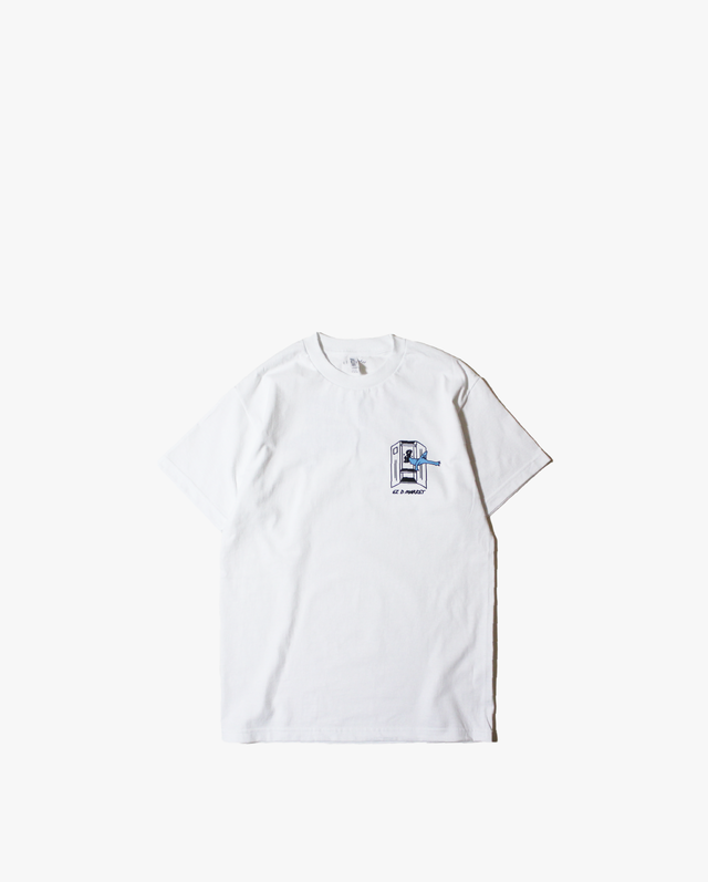 Toyameg for EZ D MARKET Tee White