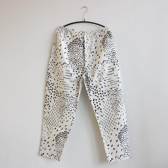 《eLfinFolk 2021SS》QiLin pants / white / S・M(大人)