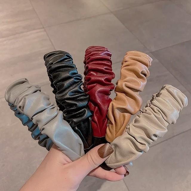 pu hair band 4color