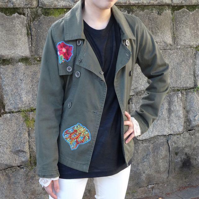 drm-008 リメイクアーミージャケット