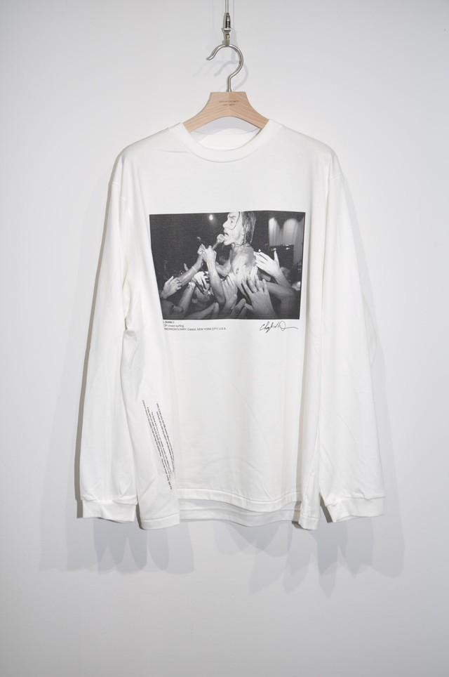 【JOHN MASON SMITH】IGGY POP CROWD SUFING L/S