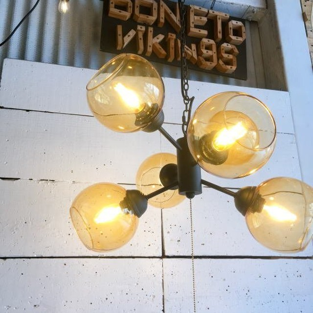 ムーン6灯ランプ