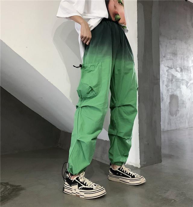 【ボトムス】ストリート系ファッションポケット付きカジュアルパンツ32735845