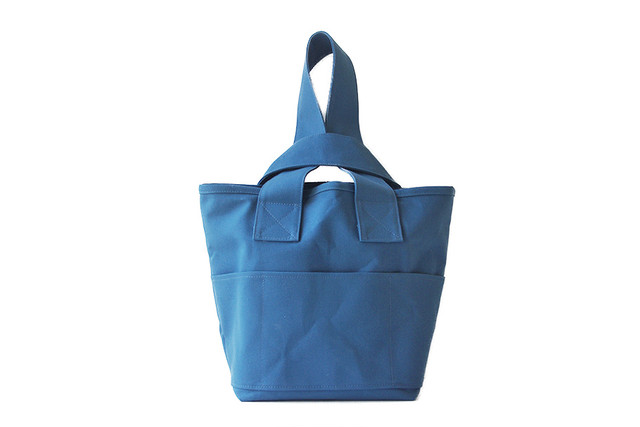 CLOUCHY SHOULDER BAG (オールミネラルブルー)