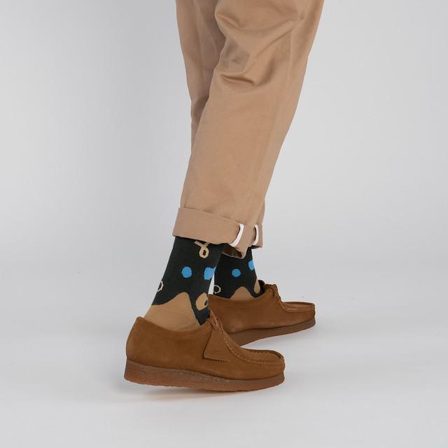 【Goodpair Socks】BUMI-PLANT・ソックス/ビストログリーン