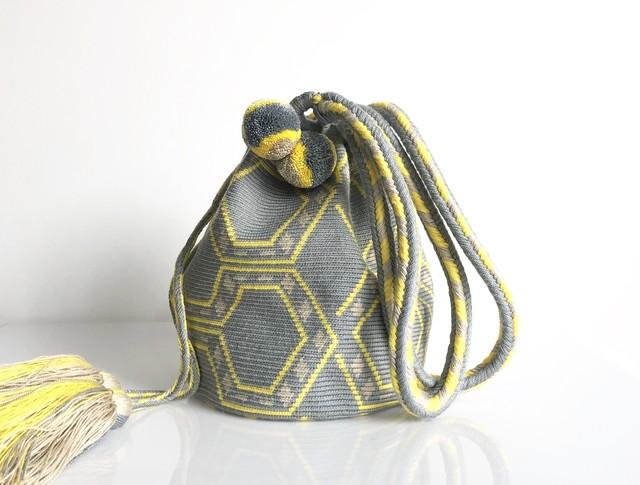 ワユーバッグ(Wayuu bag) Basic line Tote Mサイズ
