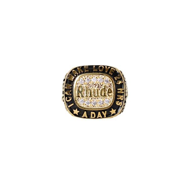 RHUDE Champions Ring