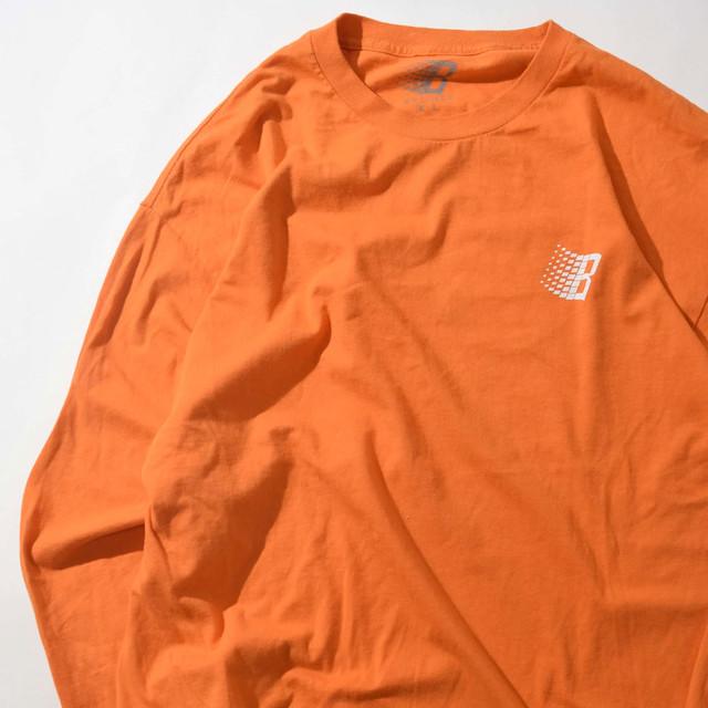 【XLサイズ】Bronze ブロンズ Logo L/S TEE 半袖Tシャツ ORG オレンジ XL 400601191050