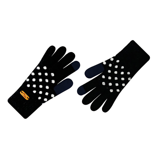 Touch screen gloves - Dancing Dot (INDIGO)