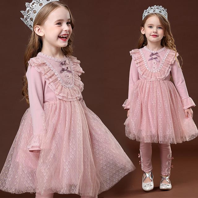 子どもドレス 子供ドレス キッズドレス 子供服装 演出装 舞台装 女の子 ワンピース スピーカースリーブ 100 110 120 130 140 プレゼント 誕生日 チュール コットン ピンク 超可愛い