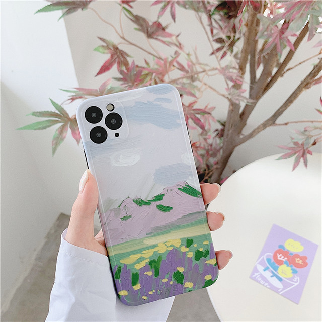 【オーダー商品】Oil painting iphone case
