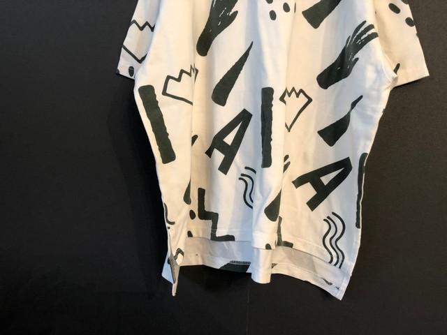 【20ss】arkakama (アルカカマ) COTTON SPDX WIDE Tee/WASA (S / M / L ) ビッグ Tシャツ