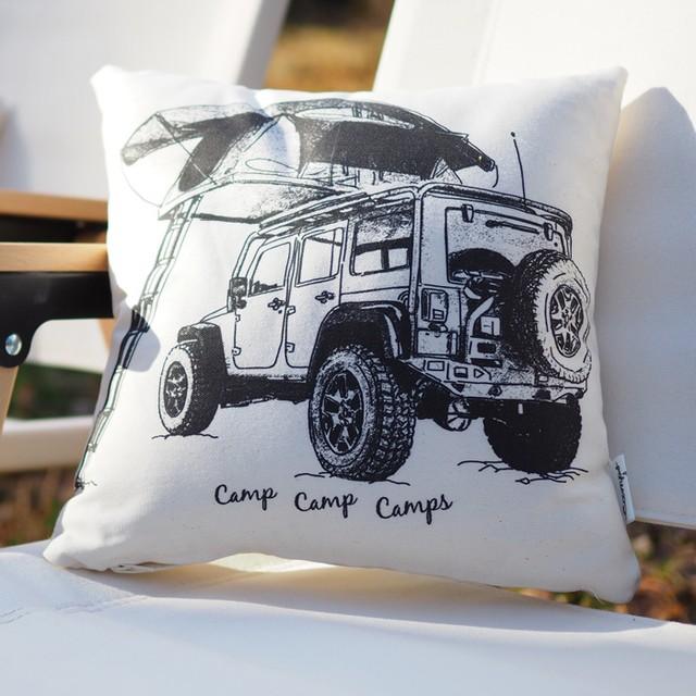 CAMPS クッションカバー【Jeep Wrangler】