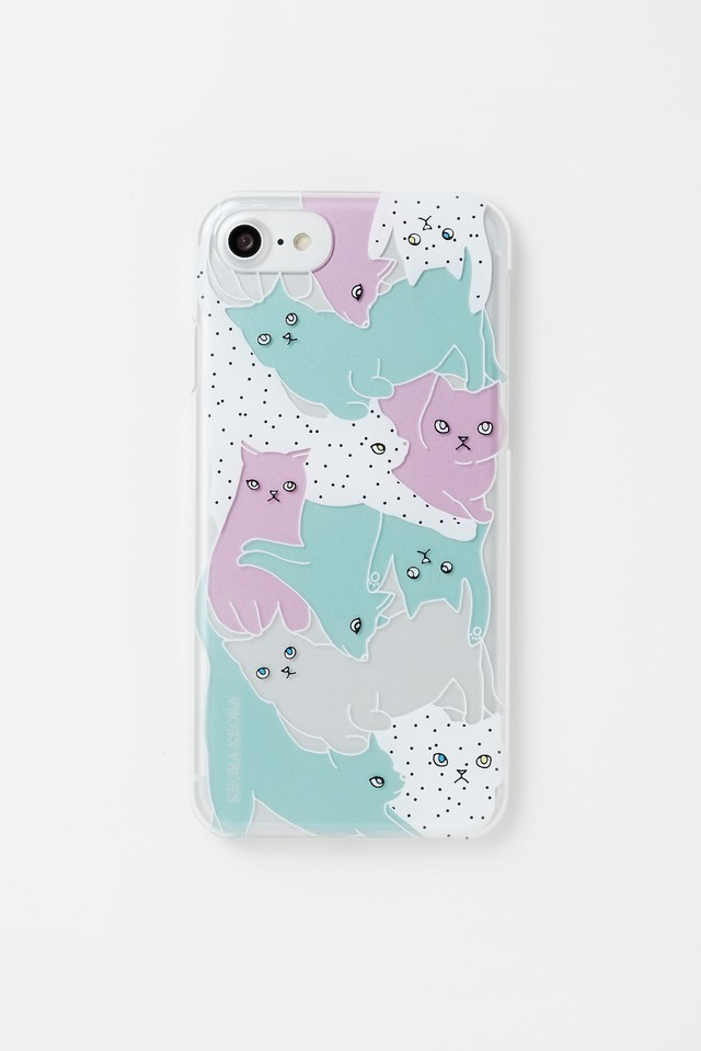 【iPhone6&7&8専用】CATS COLORFUL