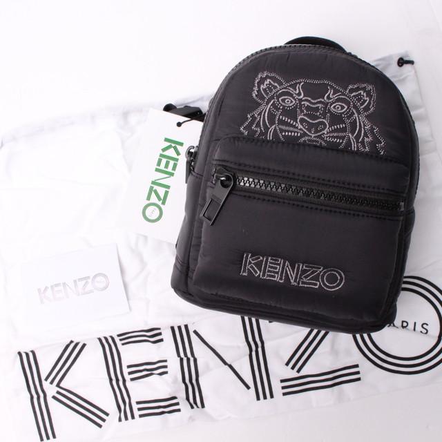KENZO ケンゾー ミニリュック タイガー ブラック[全国送料無料] r017220