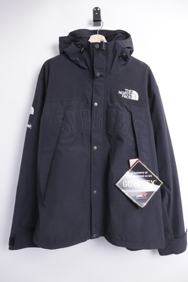 Supreme 19SS × THE NORTH FACE  ARC LOGO MOUNTAIN PARKA  BLACK X-LARGE 650IE4924