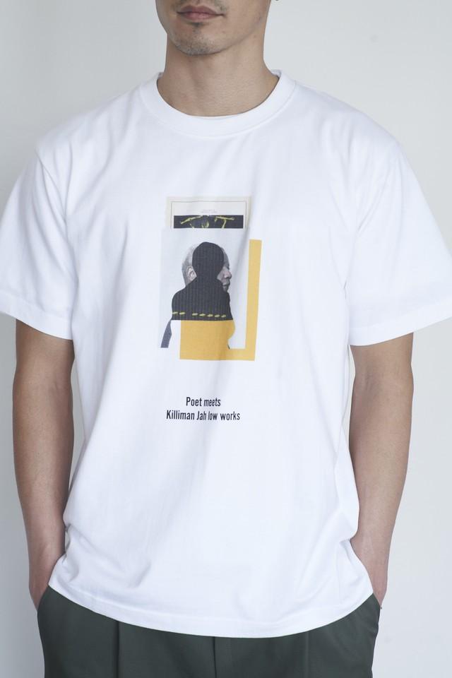 POET MEETS DUBWISE Killiman Jah Low Works Collage 1 Inkjet T-shirt