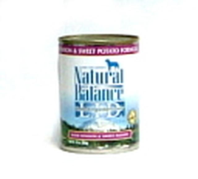 ナチュラルバランス缶フード ベニソン&スウィートポテト缶369g×24缶