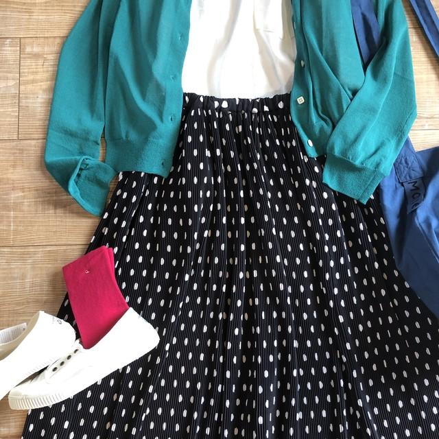 bulle de savon mizutamaプリーツスカート