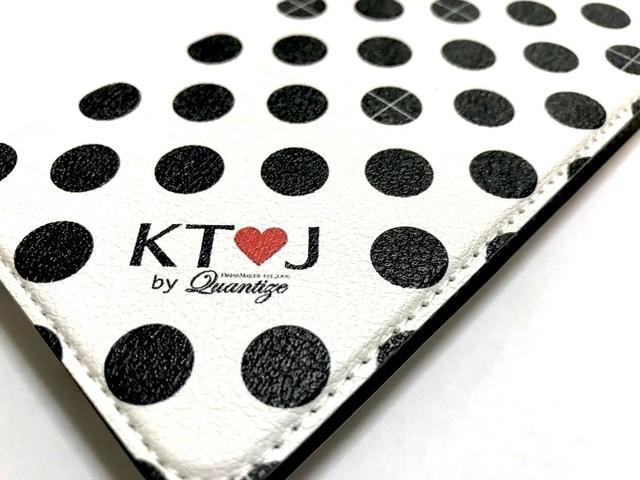 丸十ドット柄スマートフォン手帳型ケース(iPhone 7/8)