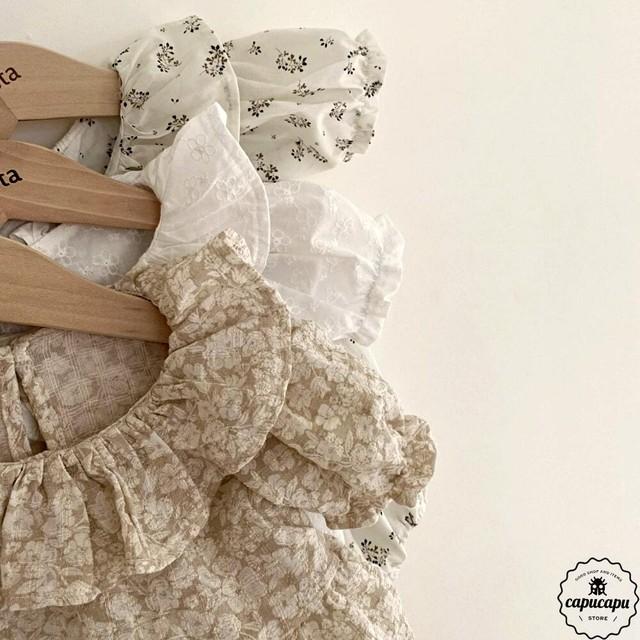 «予約» Aosta Olivia blouse 3colors オリビアブラウス