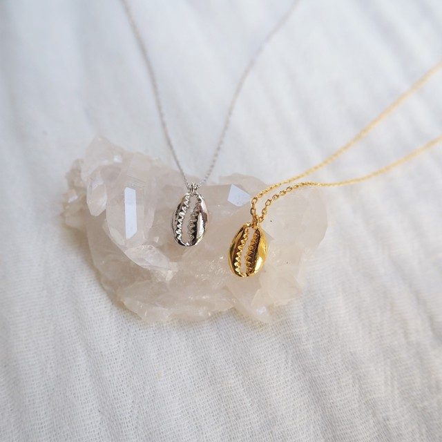 Shell Necklace《SLV/GLD》19385171