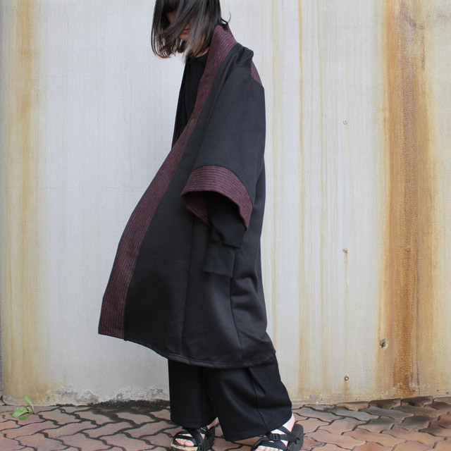 Haori-Coat (black/red)