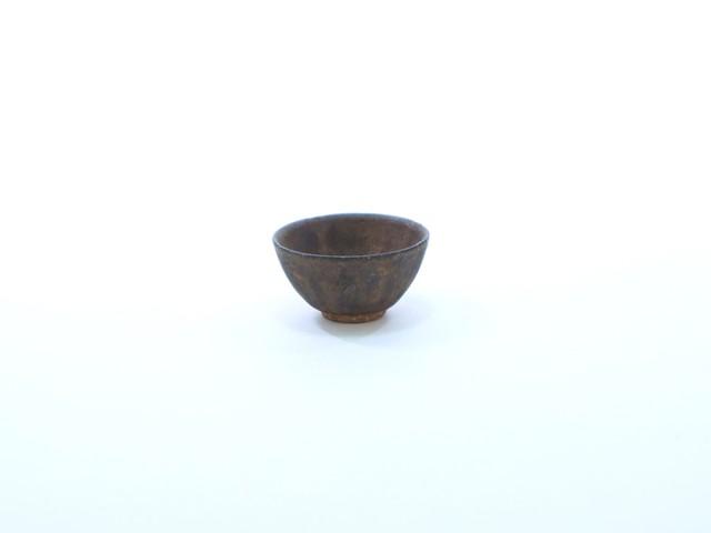 【常滑焼/淳蔵作】茶杯(小)・黒金彩