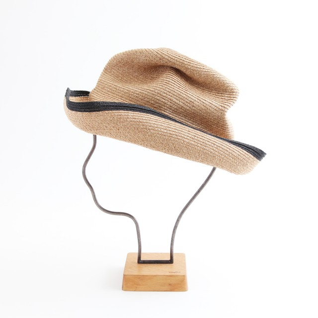 mature ha./BOXED HAT 101SWE mixbrown×black