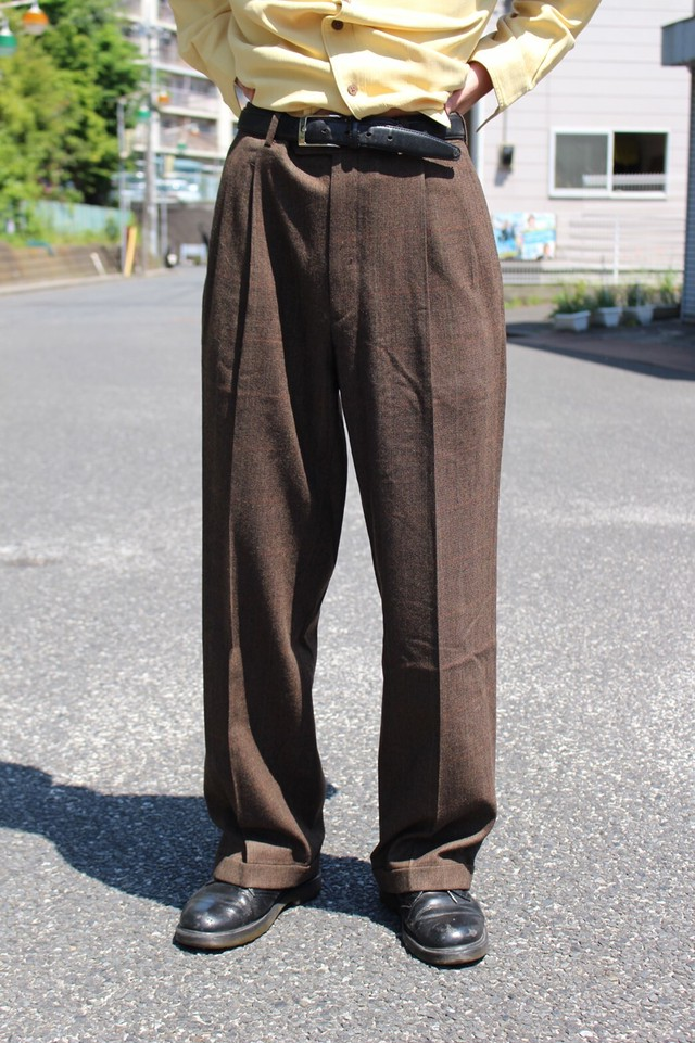 Burberry Check Slacks Pants